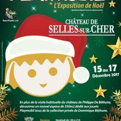 Affiche expo playmobil chateau de selle dominique bethune