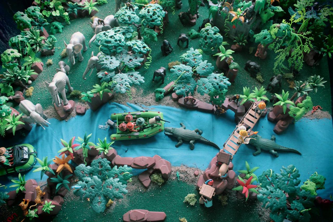 La jungle en Playmobil