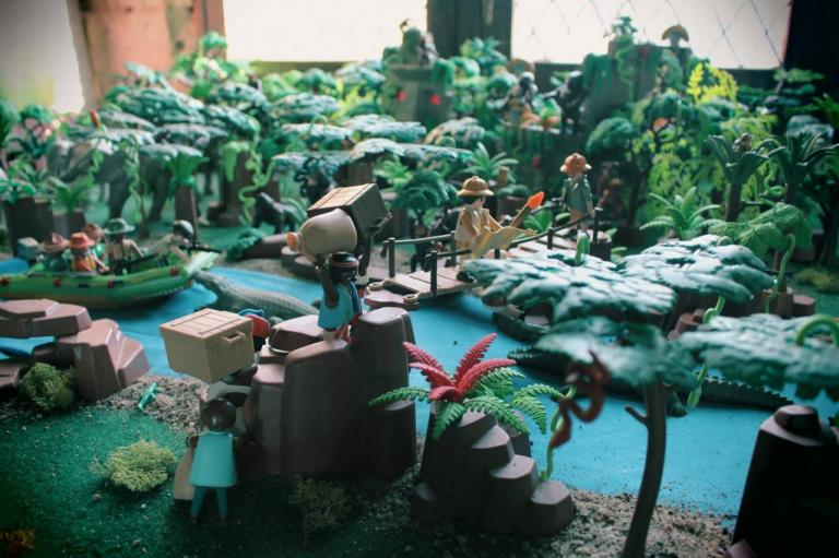 Aventure dans la jungle en Playmobil