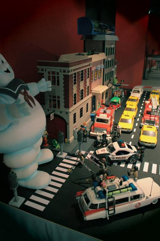 Ghostbusters - SOS fantômes en Diorama Playmobil
