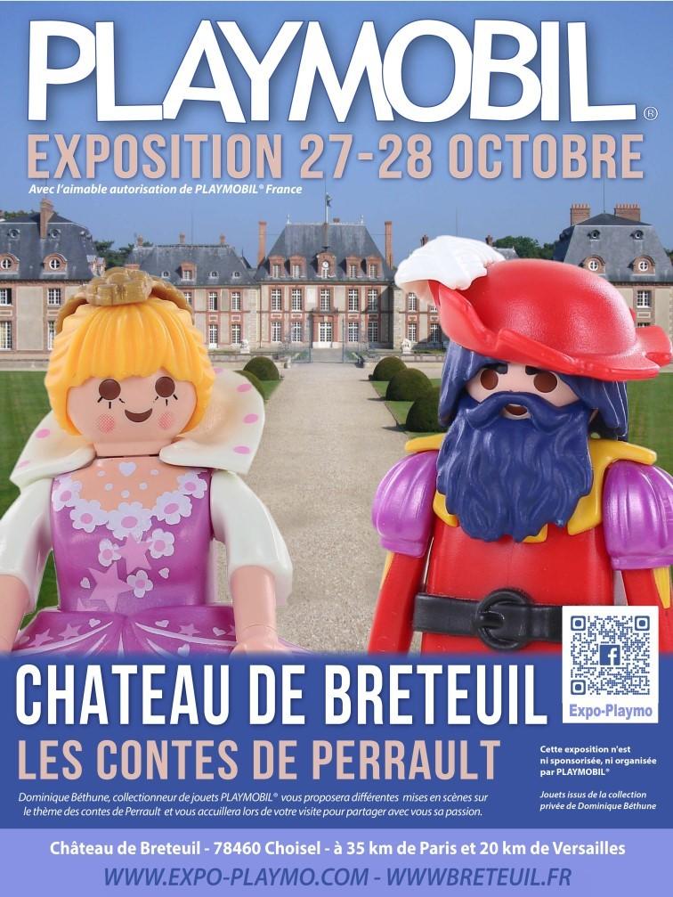 Exposition playmobil au chateau de breteuil dominique bethune