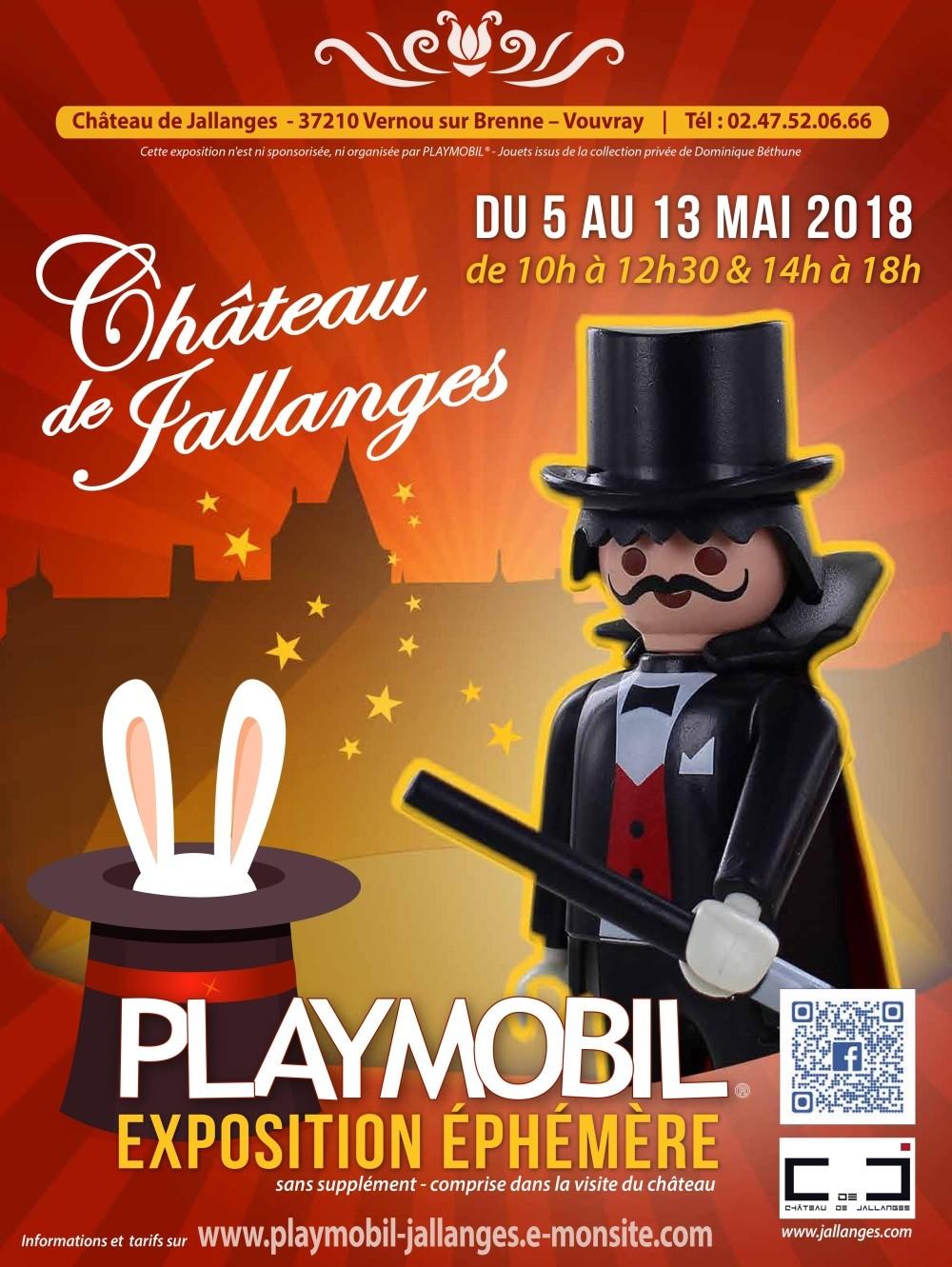 Exposition playmobil au chateau de jallanges mai 2018