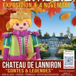 Exposition playmobil chateau de lanniron 29 dominique bethune