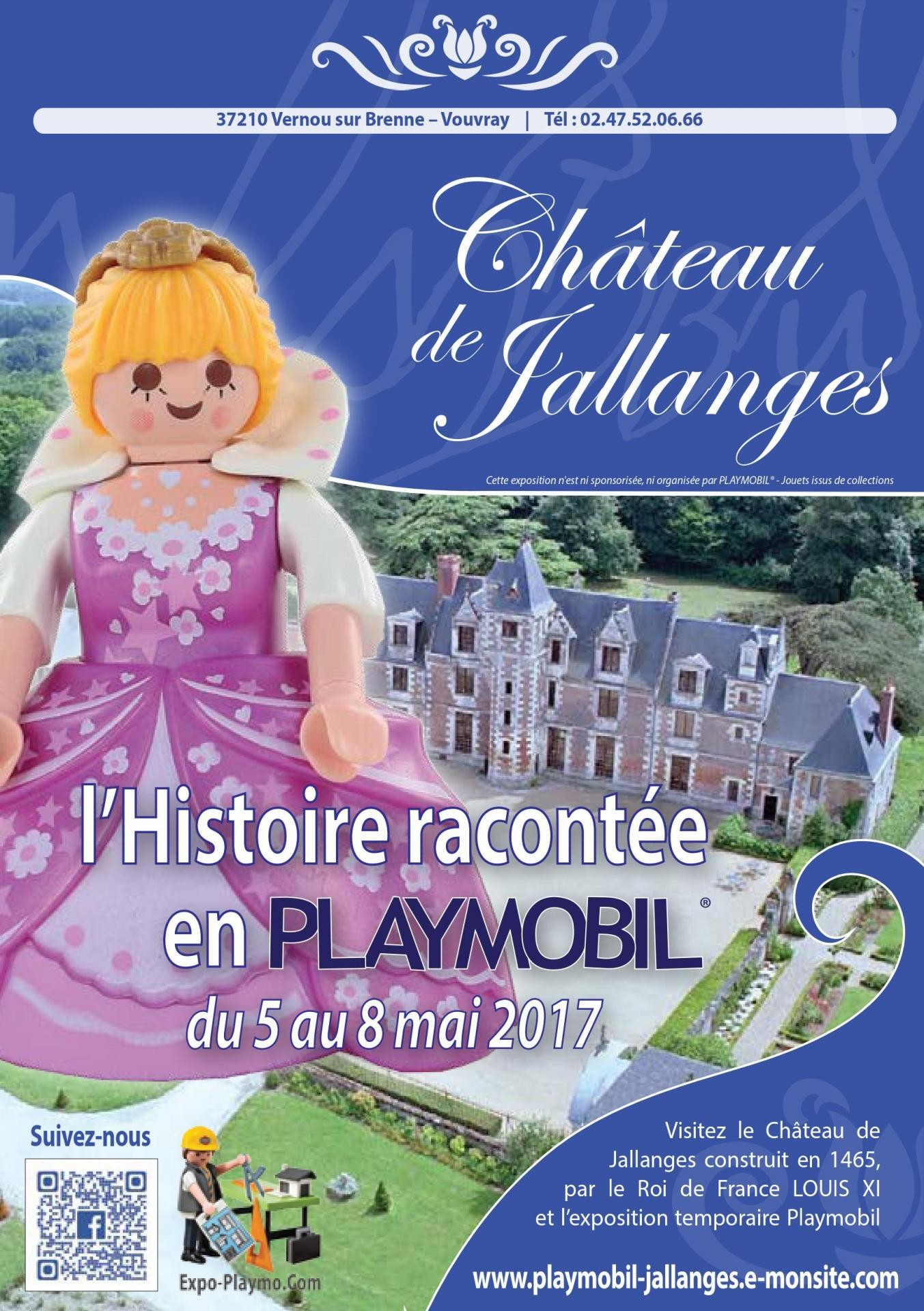 Exposition playmobil histoire chateau jallanges