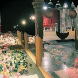 Exposition Playmobil à l'église Saint Mengold de Huy en 2019