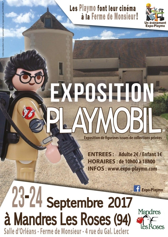 Exposition playmobil mandres les roses 94 expo playmo small