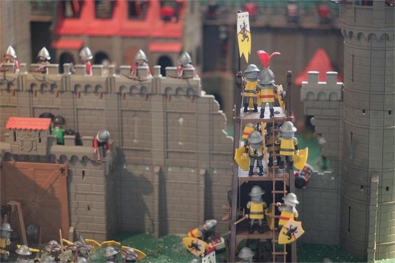 L'Histoire du moyen-âge en Playmobil au musée de l'Archéoscope de Bouillon - 2019