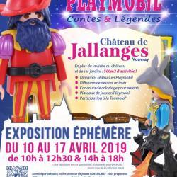 Exposition playmobil paques au chateau de jallanges dominique bethune