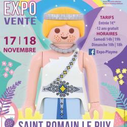 Exposition playmobil saint romain le puy dominique bethune 2018