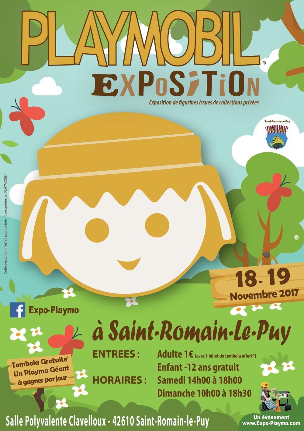 Exposition playmobil saint romain le puy expo playmo web