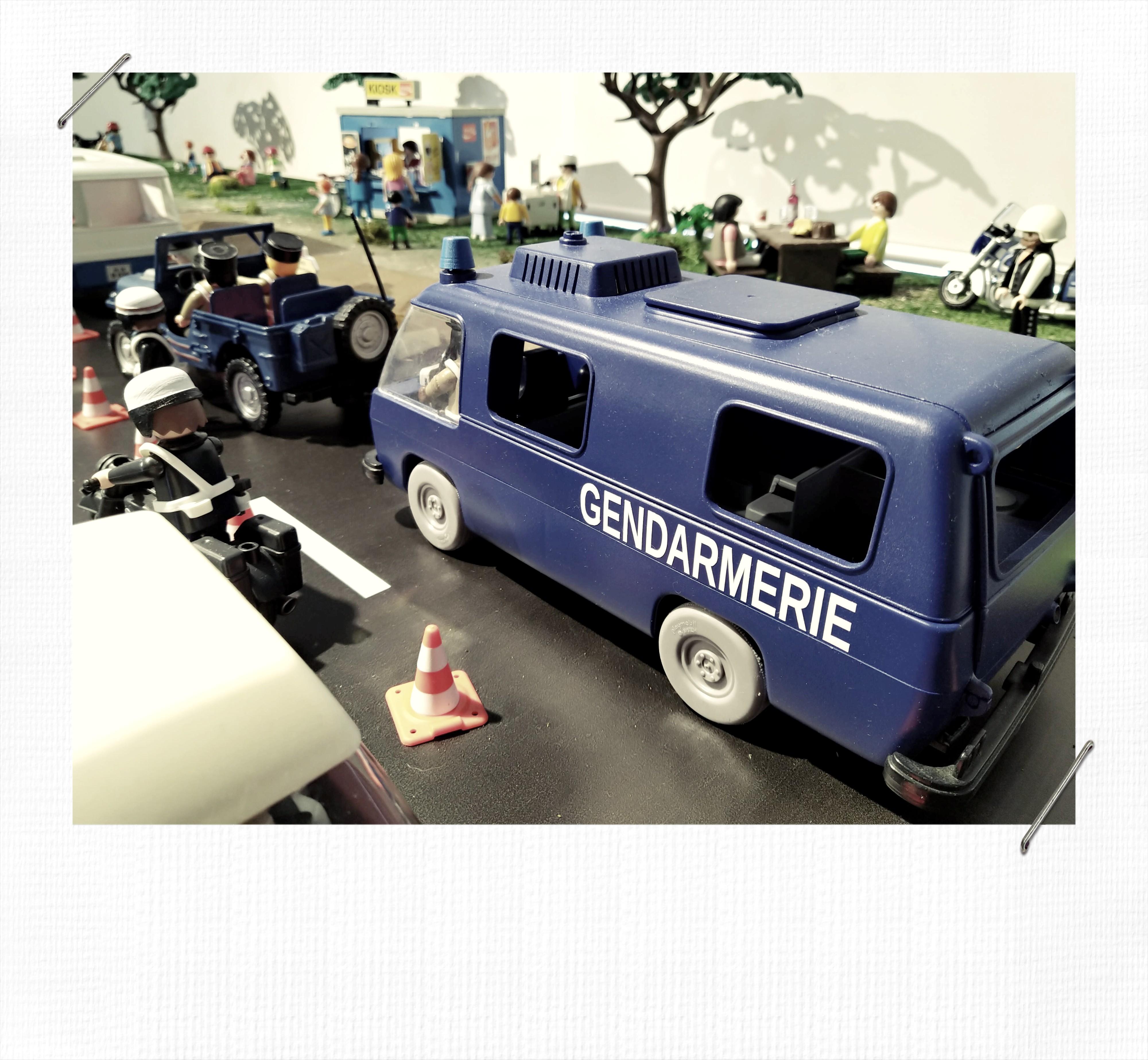 La Gendarmerie dans les années 1970