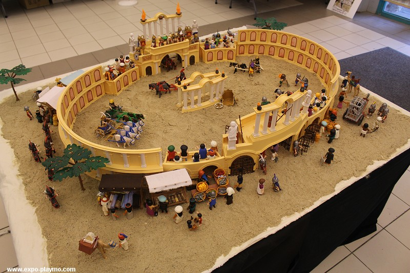 BenHur en Playmobil par Dominique Béthune