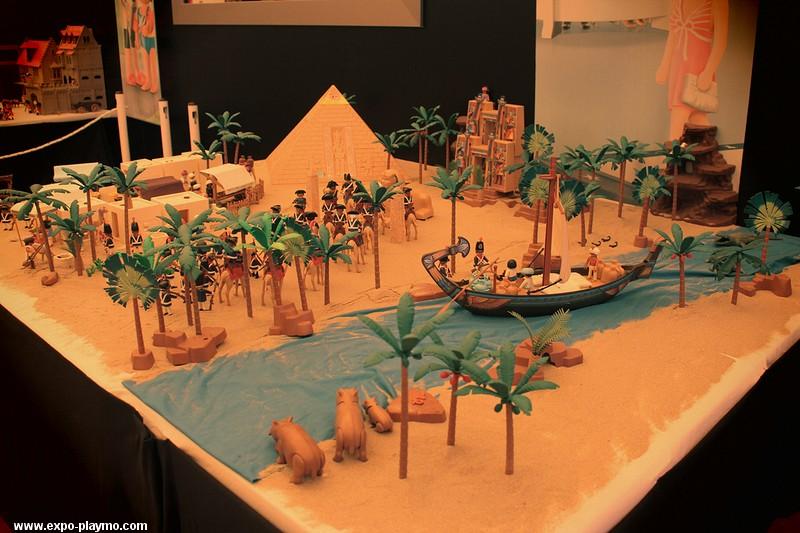 La Campagne d'Egypte de Napoléon réalisée en Playmobil