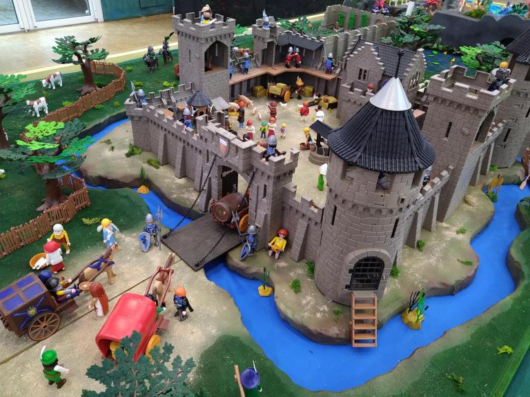 Légendes du moyen-âge en playmobil