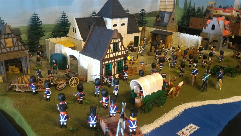 La bataille de Ligny - 16 juin 1815
