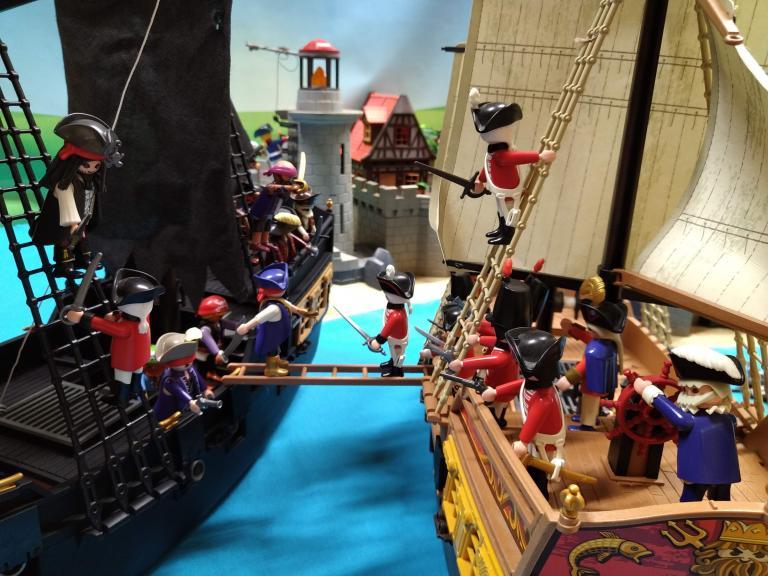 Pirates des caraibes en playmobil