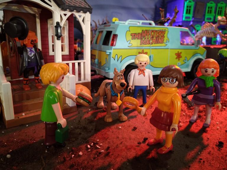 Scooby doo en playmobil