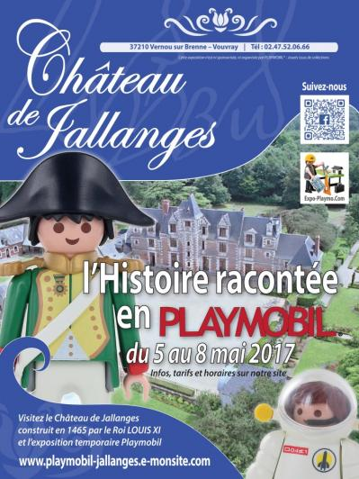Affiche exposition playmobil de jallanges mai 2017 collection dominique bethune web