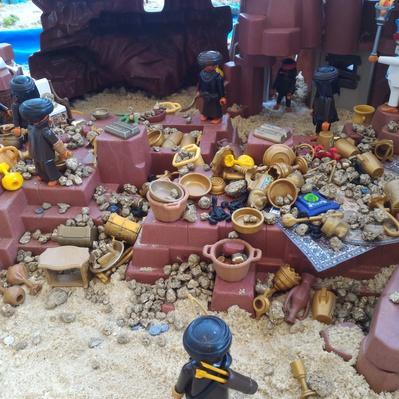 Alibaba en playmobil exposition villers 2017 bethune