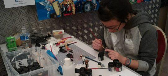 Atelier custom playmobil alizee au chateau de jallanges