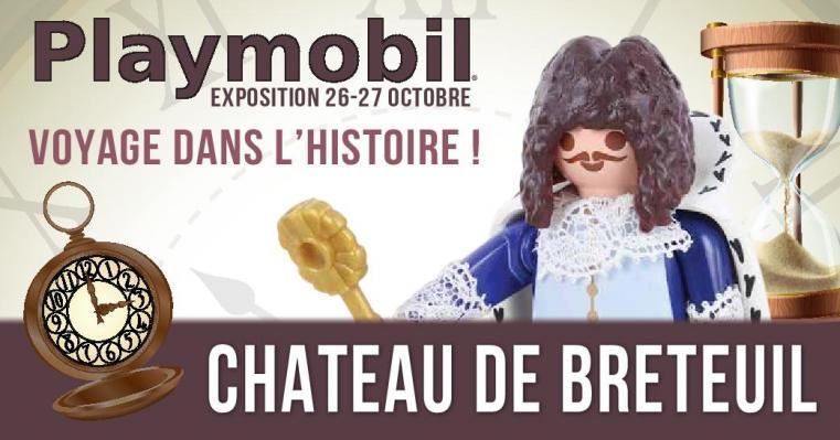 exposition playmobil au chateau de breteuil par dominique bethune