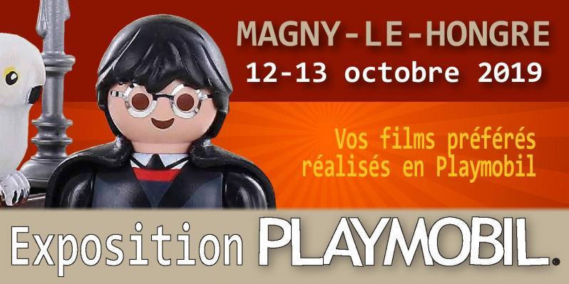 Exposition playmobil de magny le hongre 2019