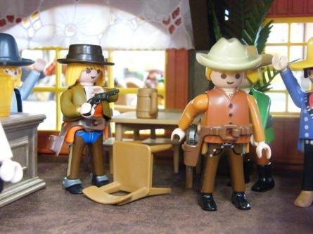 Billy the kid leonardo de leonardo dicaprio playmobil custom western