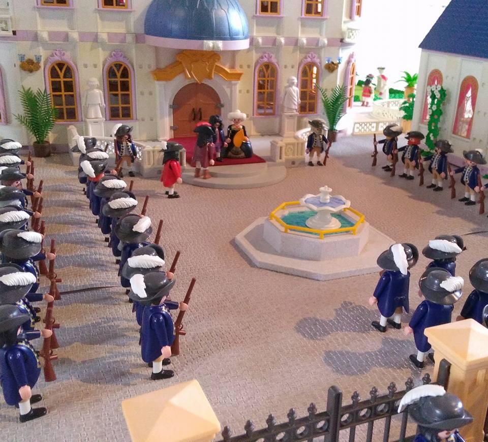 Chateau de turenne en playmobil dominique bethune 1