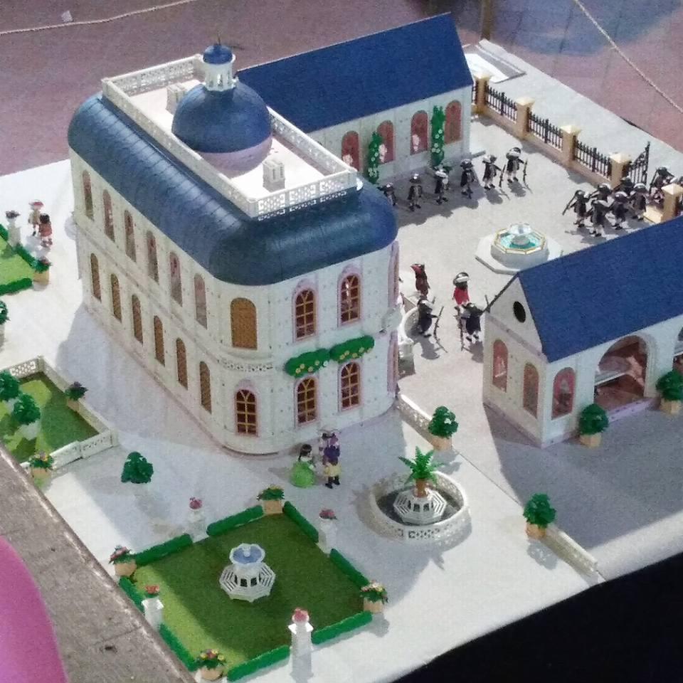 Chateau de turenne en playmobil dominique bethune 3