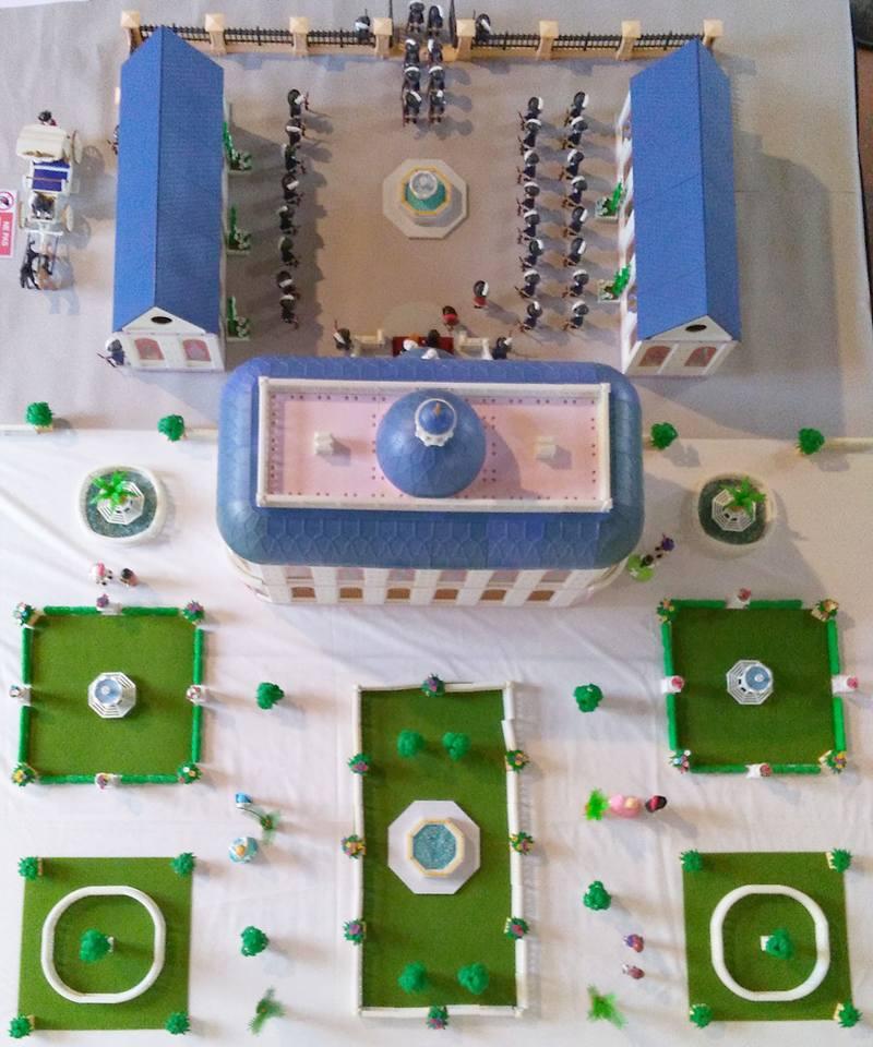 Chateau de turenne en playmobil dominique bethune 7