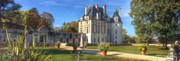 Chateau selles sur cher avant cour slide