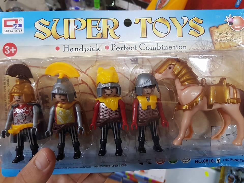 Copie chinoise de playmobil romains