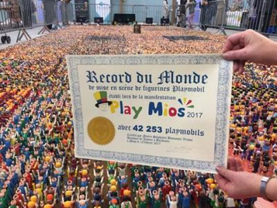 record mondial playmobil 42253 playmobil à mios