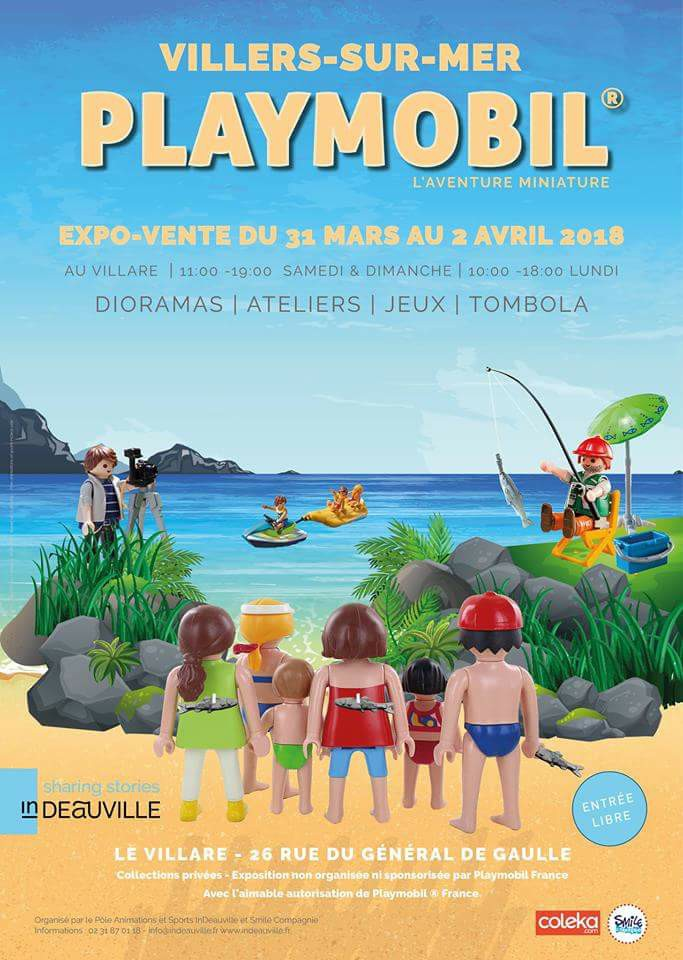 Expositiion playmobil villers 2018
