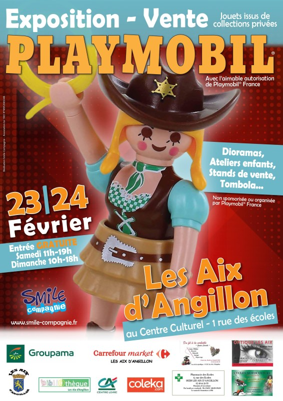 Exposition playmobil aix d angillon 2019 smile compagnie web