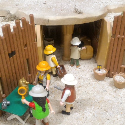 Exposition playmobil archeologie dominique bethune oise 3