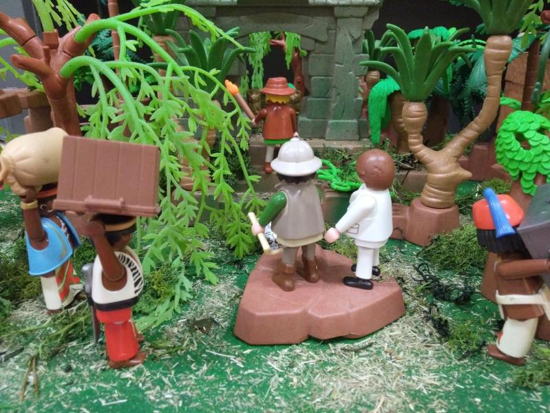 Exposition playmobil archeologie dominique bethune oise 6