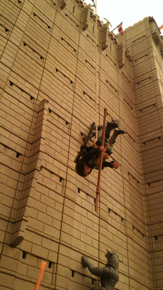 Exposition playmobil au chateau de jallanges sur le cinema la grande muraille 3
