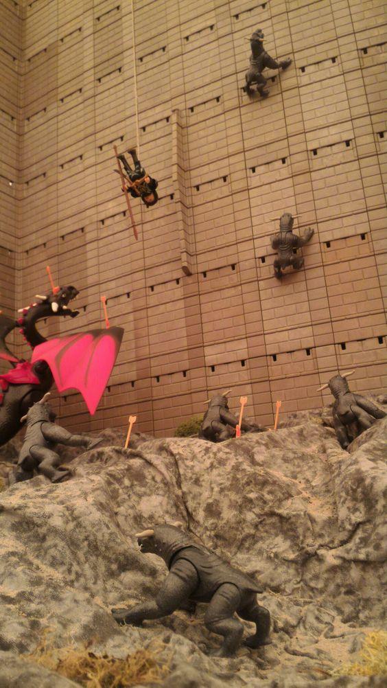 Exposition playmobil au chateau de jallanges sur le cinema la grande muraille 4