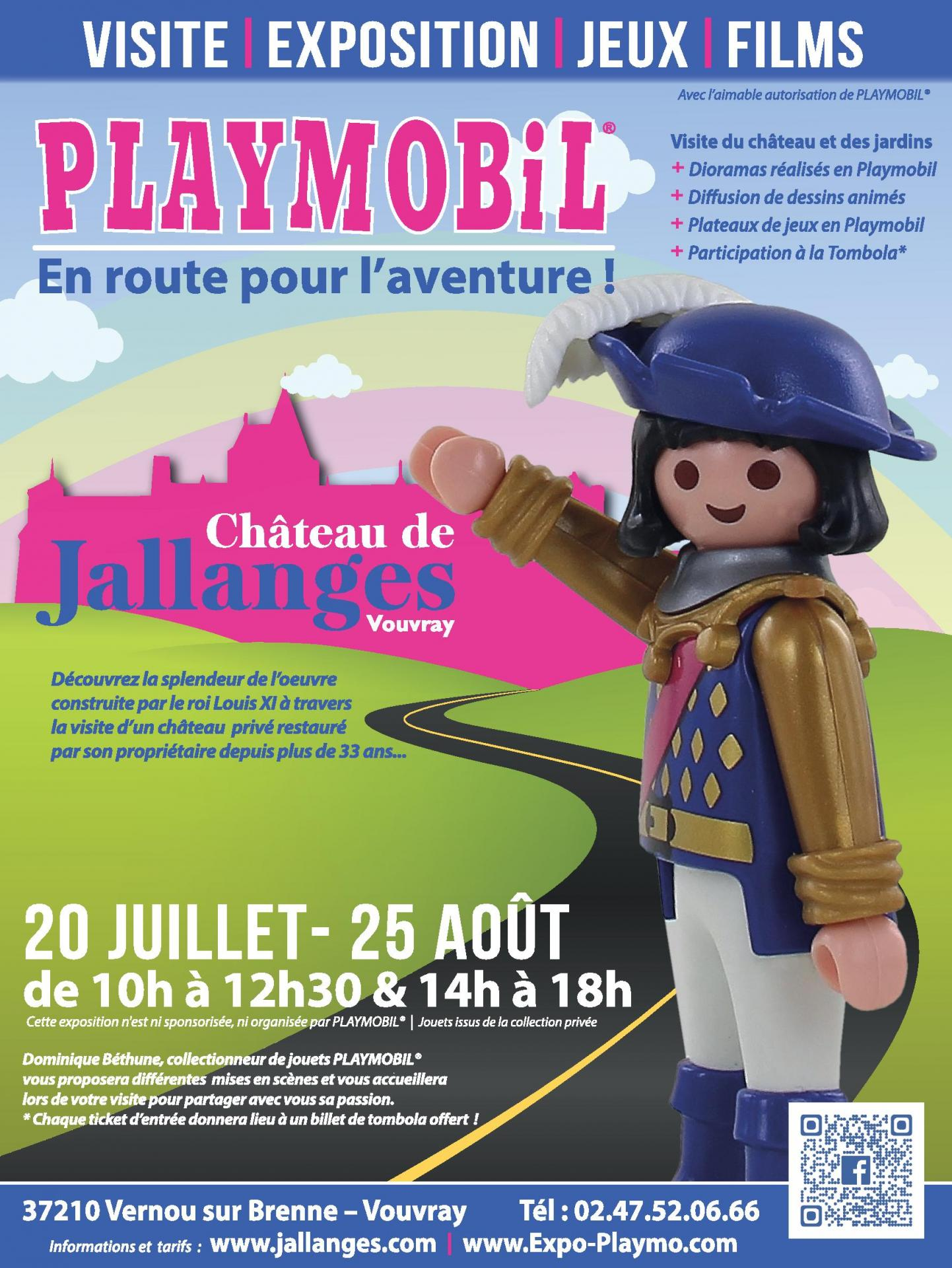 Exposition playmobil chateau jallanges ete 2019 dominique bethune
