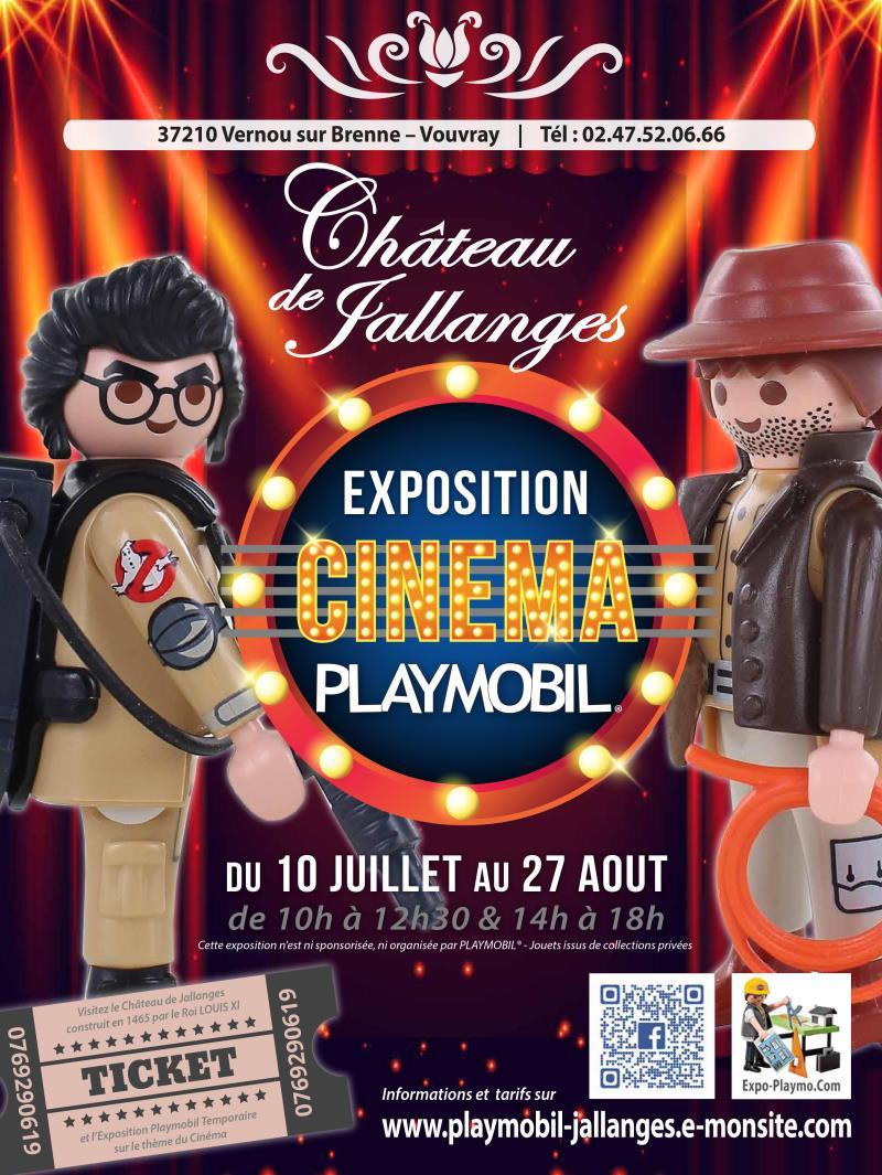 Exposition Playmobil sur le cinéma par dominque Béthune