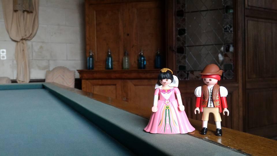 Exposition playmobil dans un chateau 8