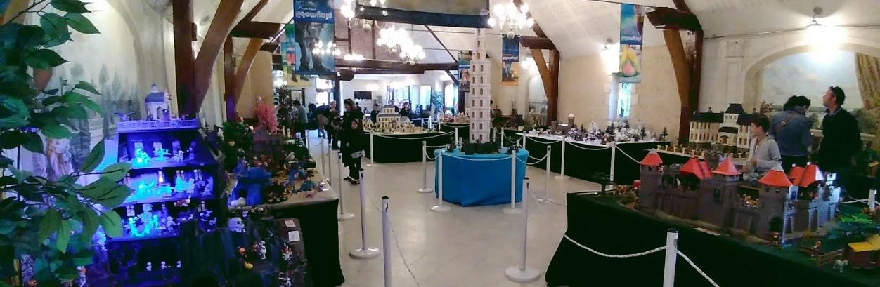 Ajouter une exposition Playmobil à la visite d'un château