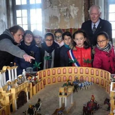 Exposition playmobil dominique bethune chateau de selles sur cher