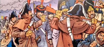 Exposition playmobil gendarmerie retraite russie 1812