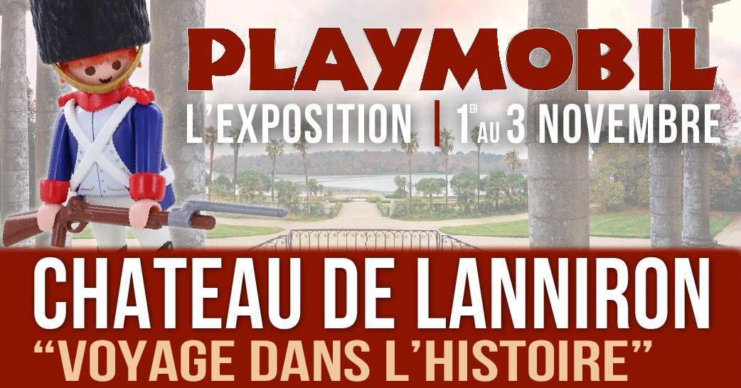 Exposition playmobil lanniron quimper bretagne 2019