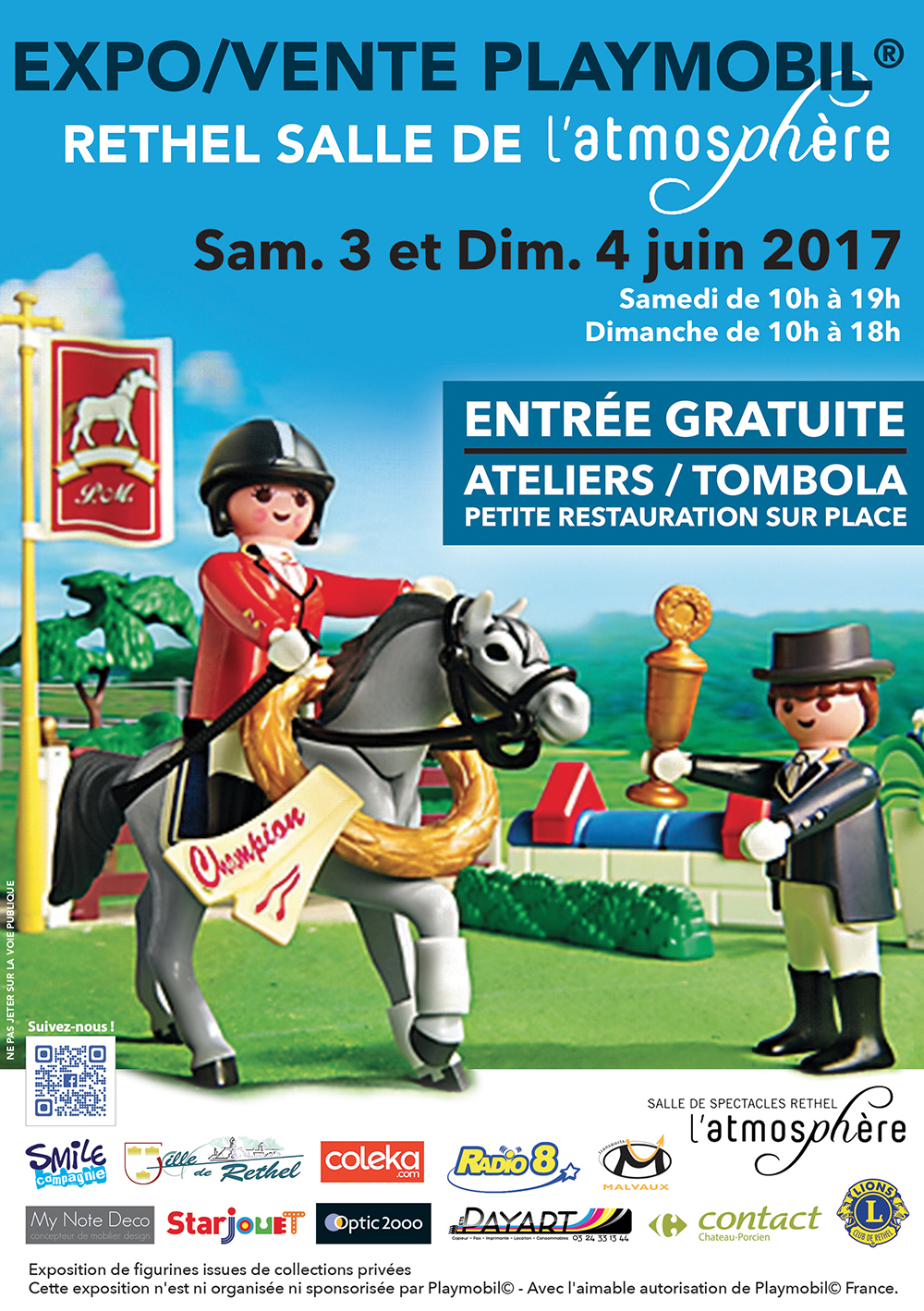 Exposition playmobil rethel smile compagnie