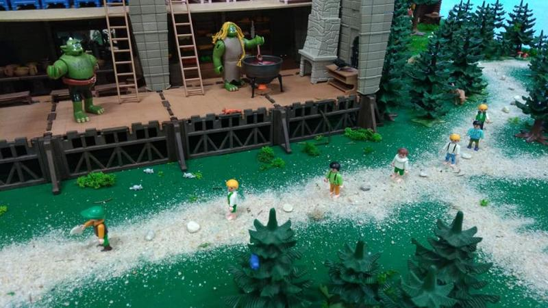 Exposition playmobil saint romain le puy 2018 dominique bethune le petit poucet