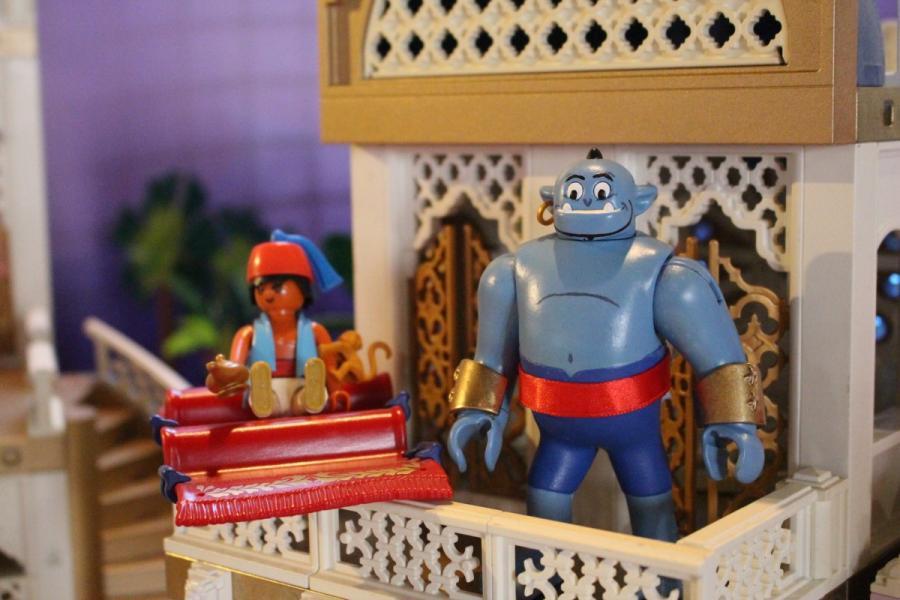Exposition playmobil sedan 2019 dominique bethune aladdin le genie