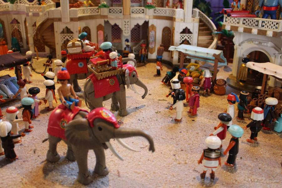 Exposition playmobil sedan 2019 dominique bethune aladdin